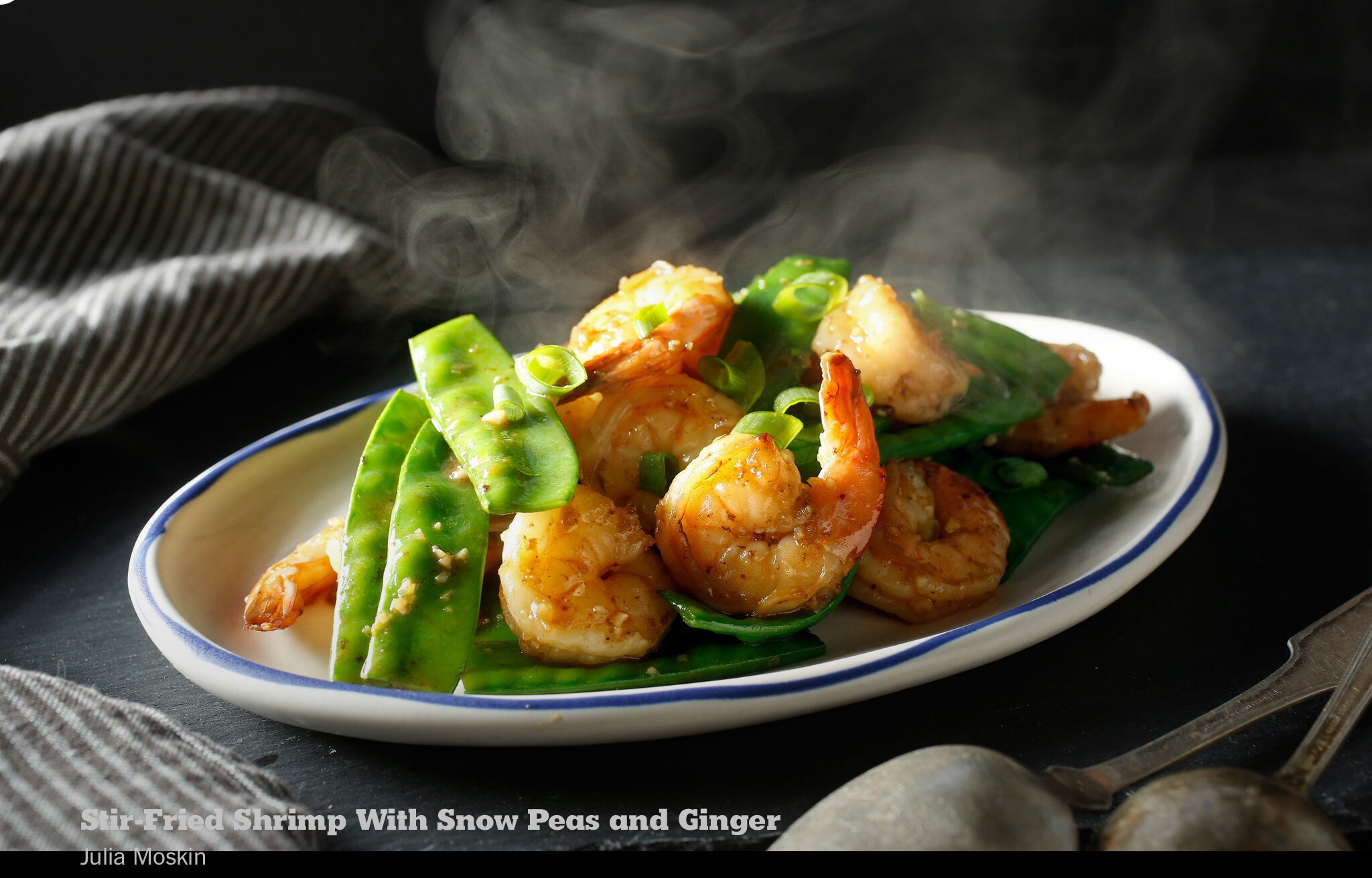 Stir-Fried Shrimp With Snow Peas and Ginger – beautifulyou583