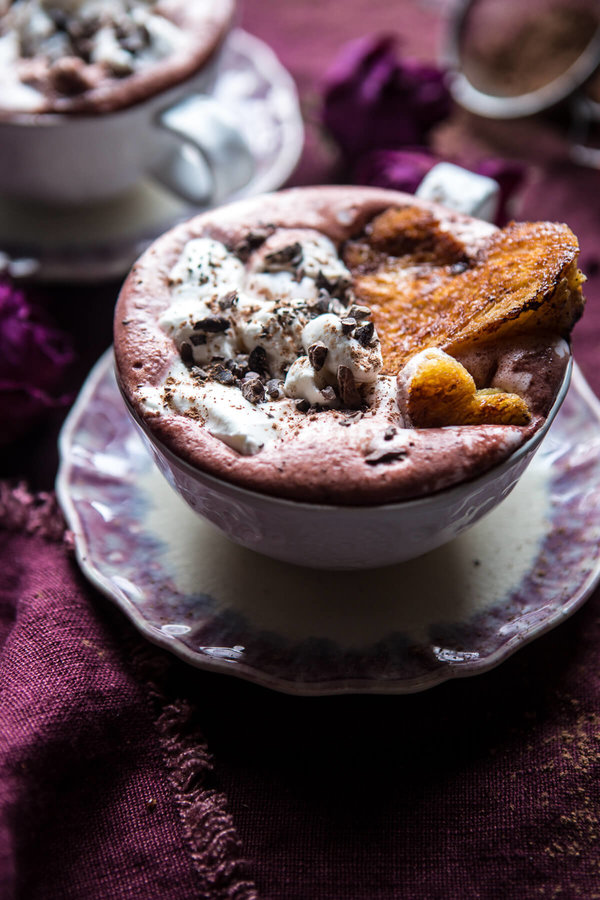 superfood-hot-chocolate-with-honey-caramelized-brioche